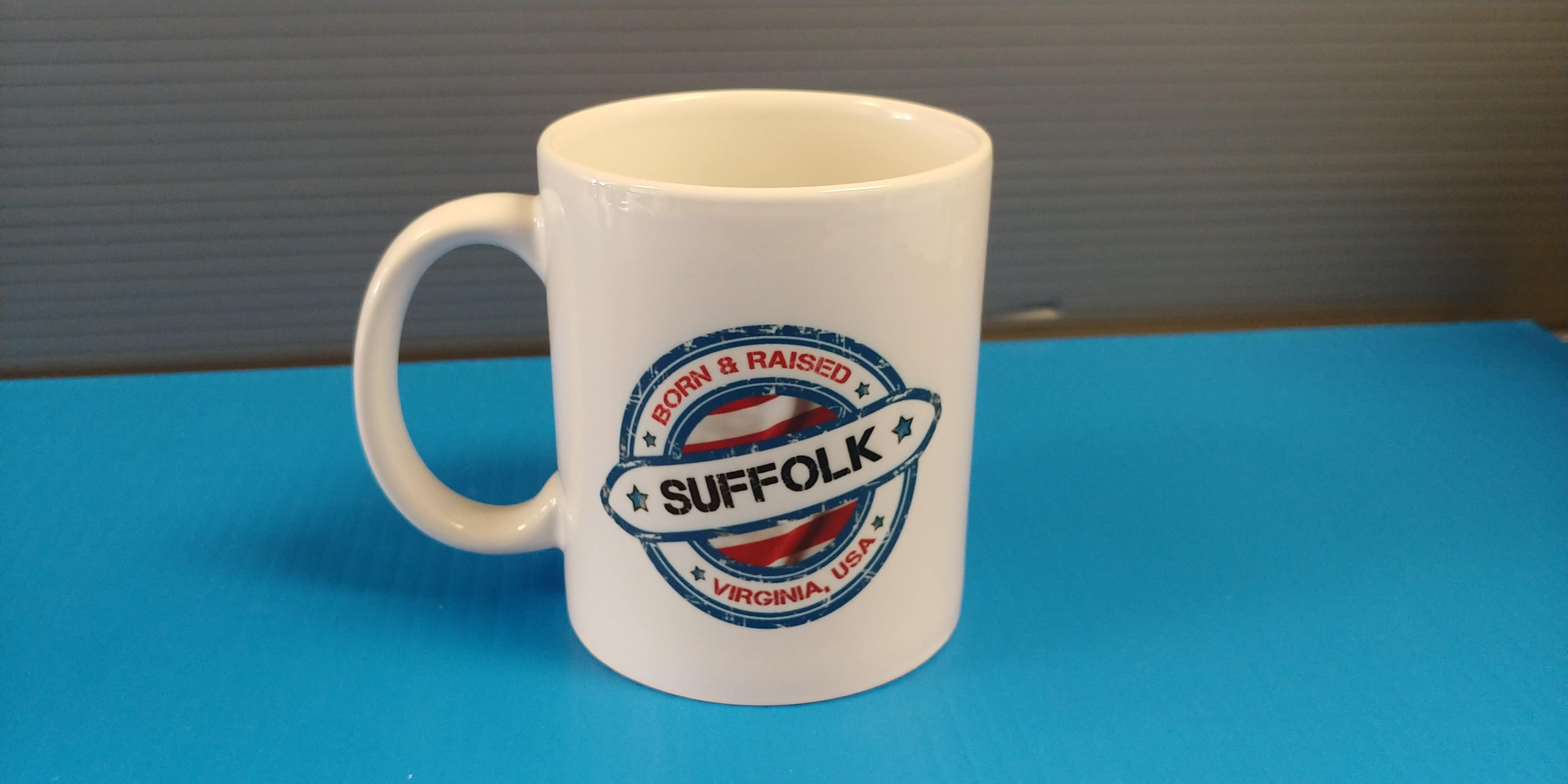 Born & Raised - Suffolk - 11oz Mug