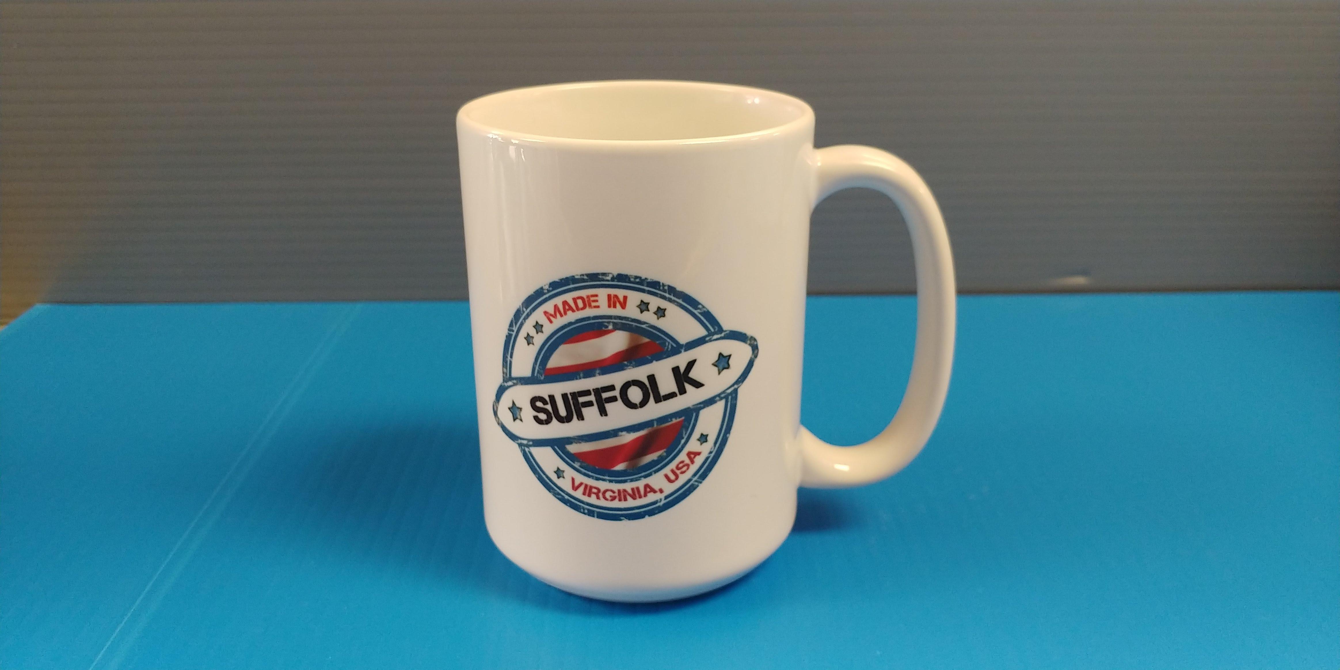Born & Raised - Suffolk - 15oz Mug
