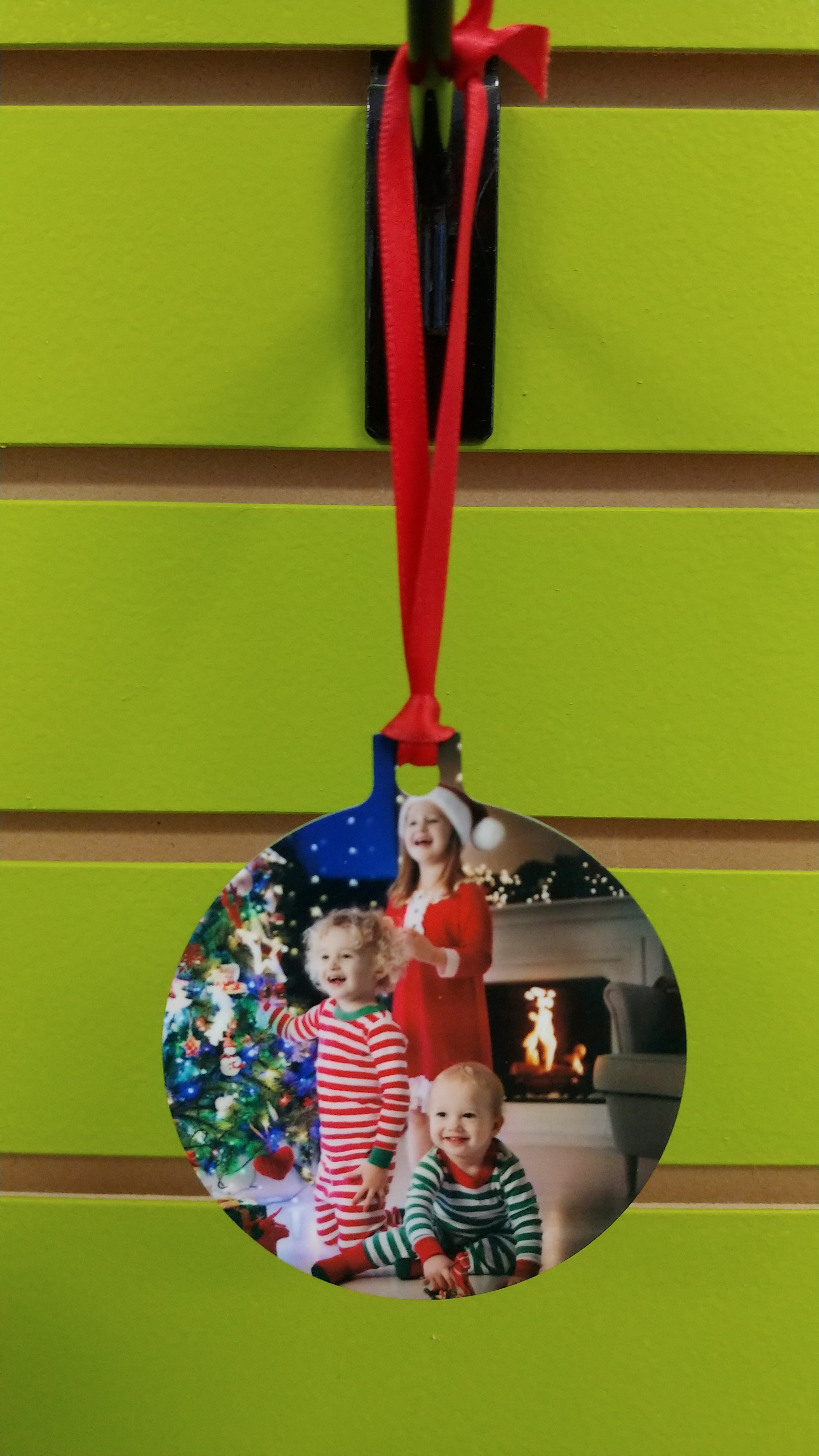 Ornament: Full Custom Ornament 2 Different Photos